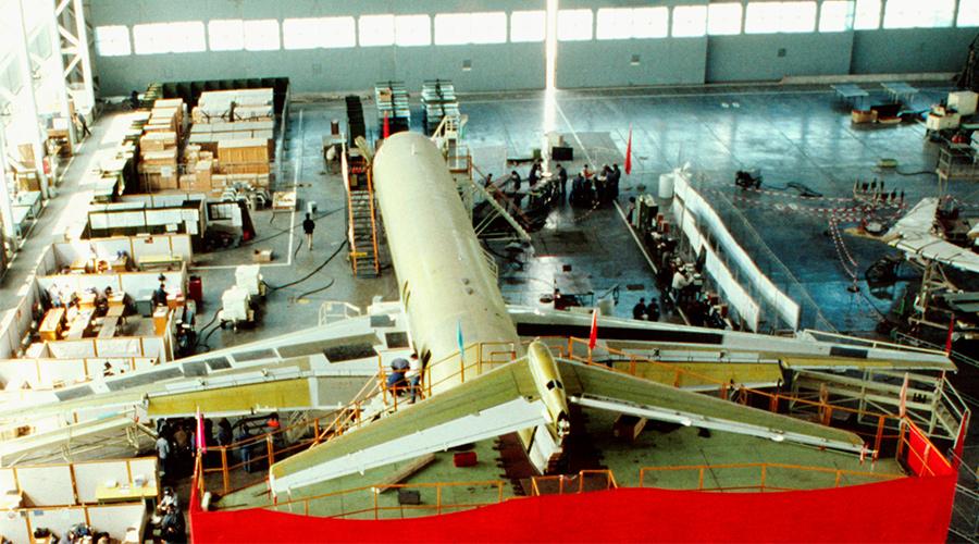 航空装配工厂